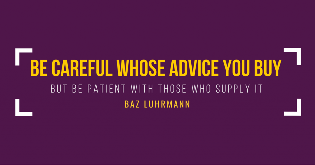 What Baz Luhrmann Taught Me About Business