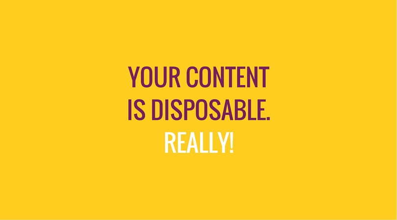 Content is Disposable - Deli Agency